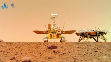 """Китай с първо """"селфи"""" от Марс"""