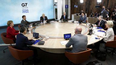 """Г-7 одобри глобален план в противовес на китайския """"Нов път на коприната"""""""