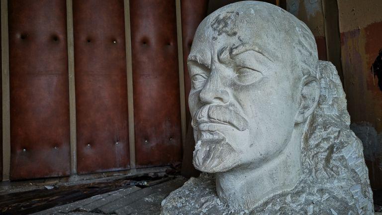 Бюстът на Ленин