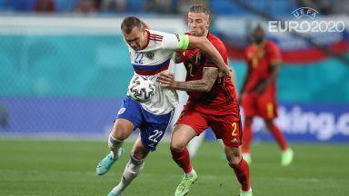 Евро 2020: Белгия - Русия 2:0 (на живо)