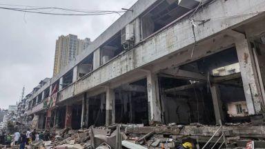 12 загинали и над 140 ранени при експлозия на газ на китайски пазар (видео)