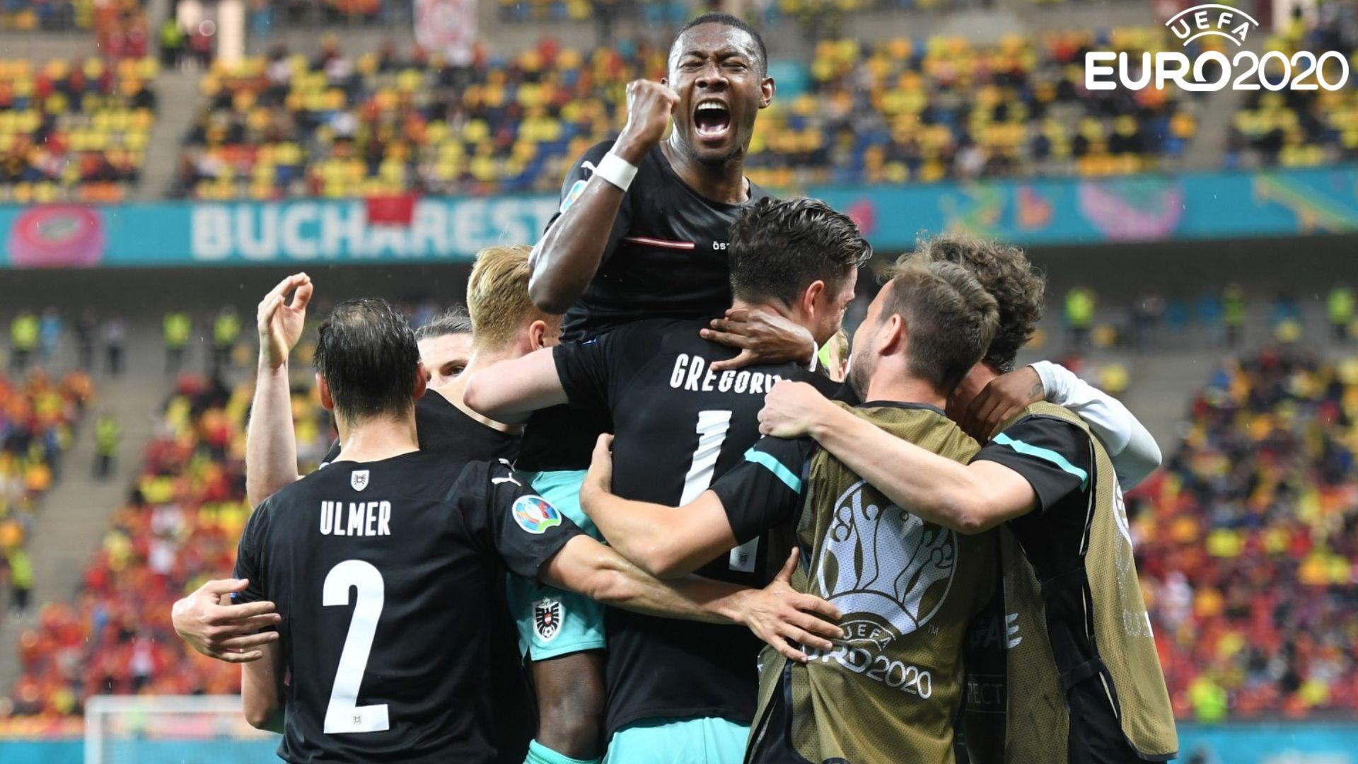 Дебютен гол за Северна Македония бе затъмнен от първа австрийска победа в еврофинали