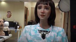 Създадоха нов вариант на хуманоидния робот София - медицинската сестра Грейс (видео)