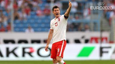 Евро 2020: Полша - Словакия 0:0 (на живо)