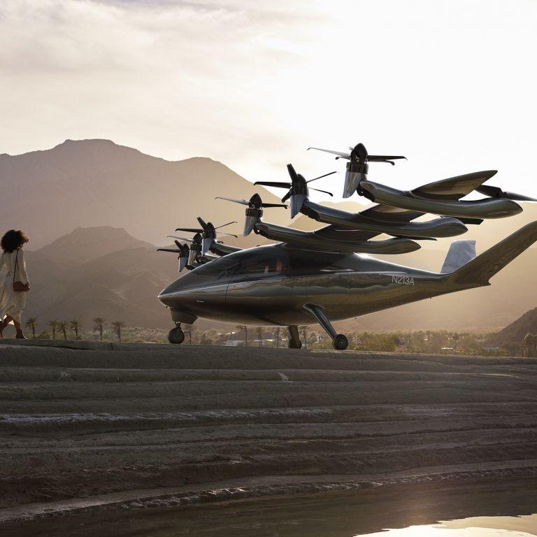 Представиха ново електрическо летящо такси