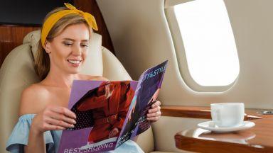 Идва краят на самолетното списание