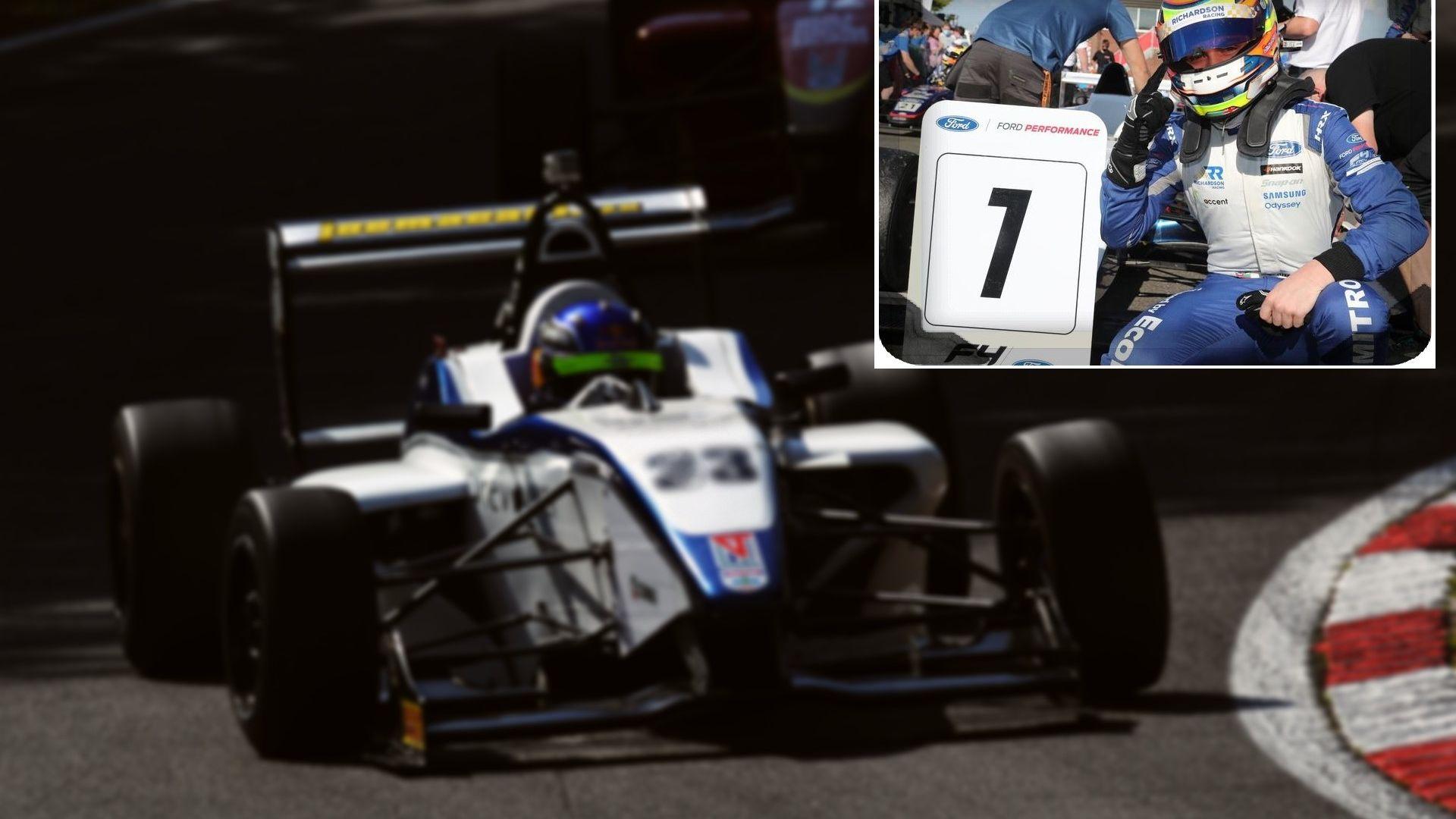 16-годишен българин спечели състезание в британската Формула 4