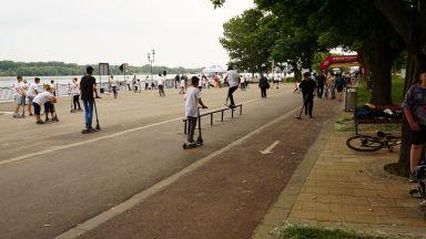 За втора поредна година в Русе се проведе Фестивалът на колелца