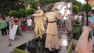 Живи статуи ще изпълнят кея на Русе