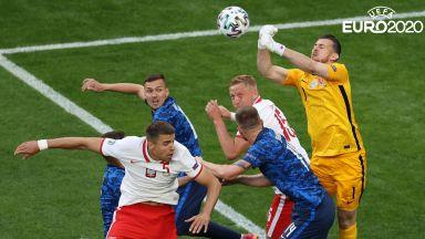 Евро 2020: Полша - Словакия 1:1 (на живо)