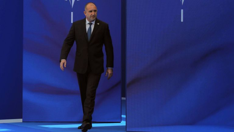 Президентът Румен Радев направи първи коментар за скандала, който от