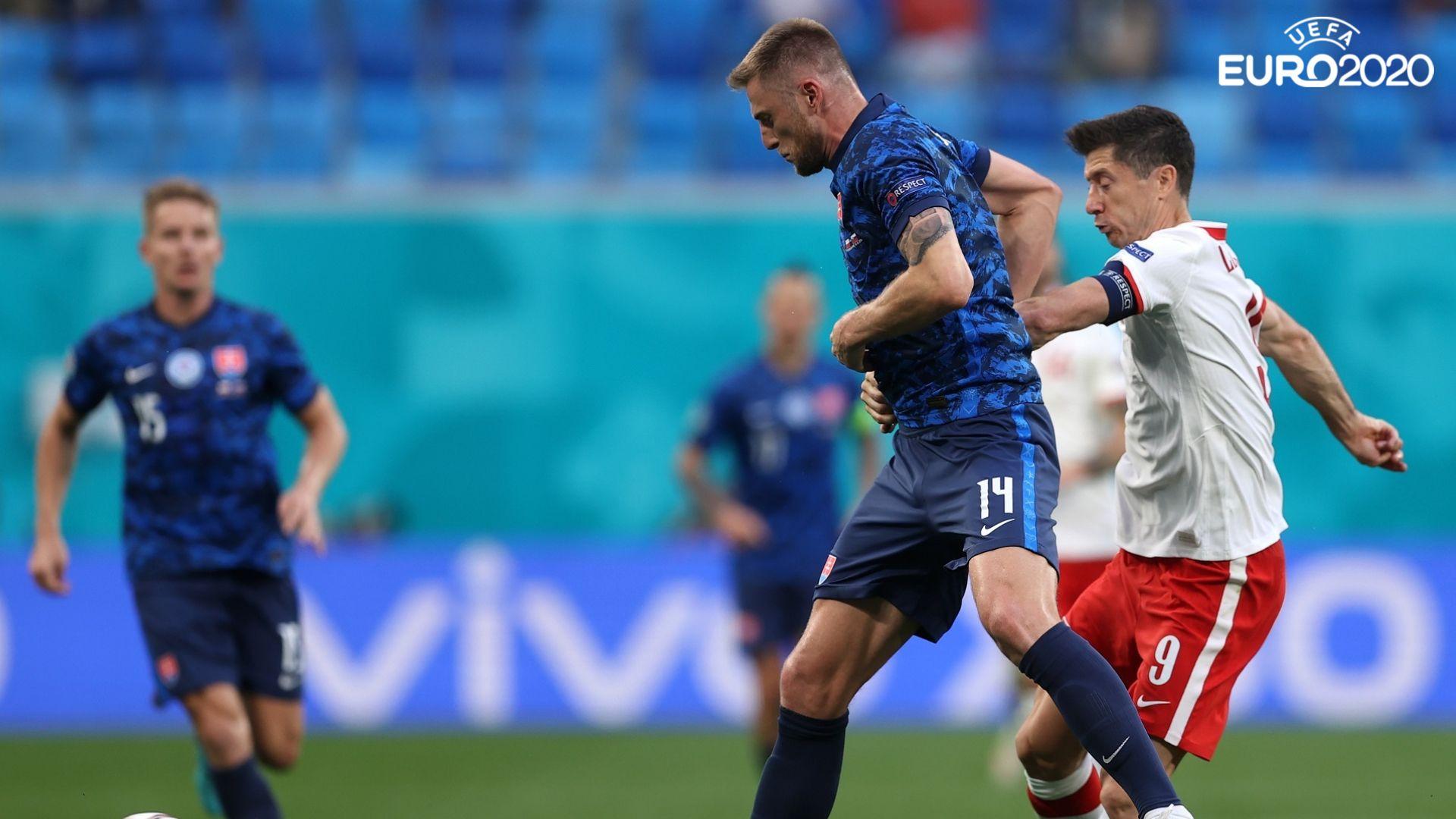 Аутсайдерът Словакия шамароса Полша за мечтан старт на Евро 2020