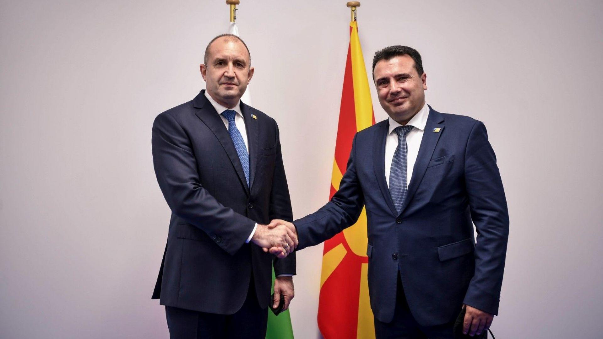 Радев и Заев обсъдиха евроинтеграцията на РСМ в Брюксел