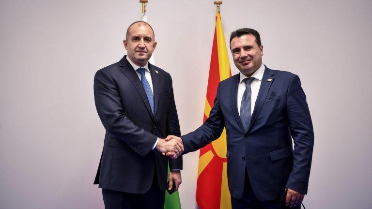 Президентът Румен Радев се срещна в Брюксел с министър-председателя на