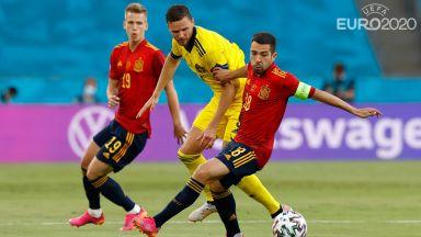 Евро 2020: Испания - Швеция 0:0 (на живо)