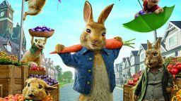 Зайчето Питър привлече най-много зрители в кината у нас