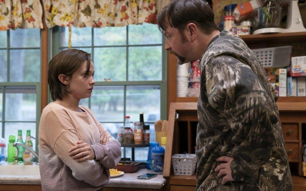 Ерин Макменамин разговаря с баща си преди да излезе на фатална среща