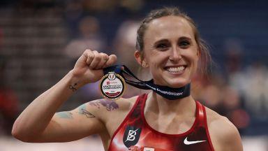 """Рекордьорка на САЩ в леката атлетика """"изгоря"""" за 4 години"""