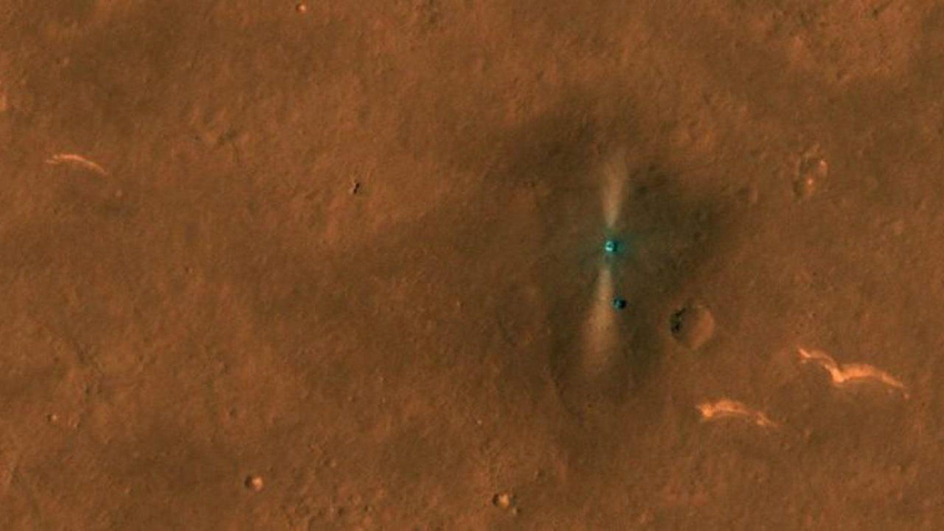 """САЩ """"шпионира"""" Китай на Марс"""