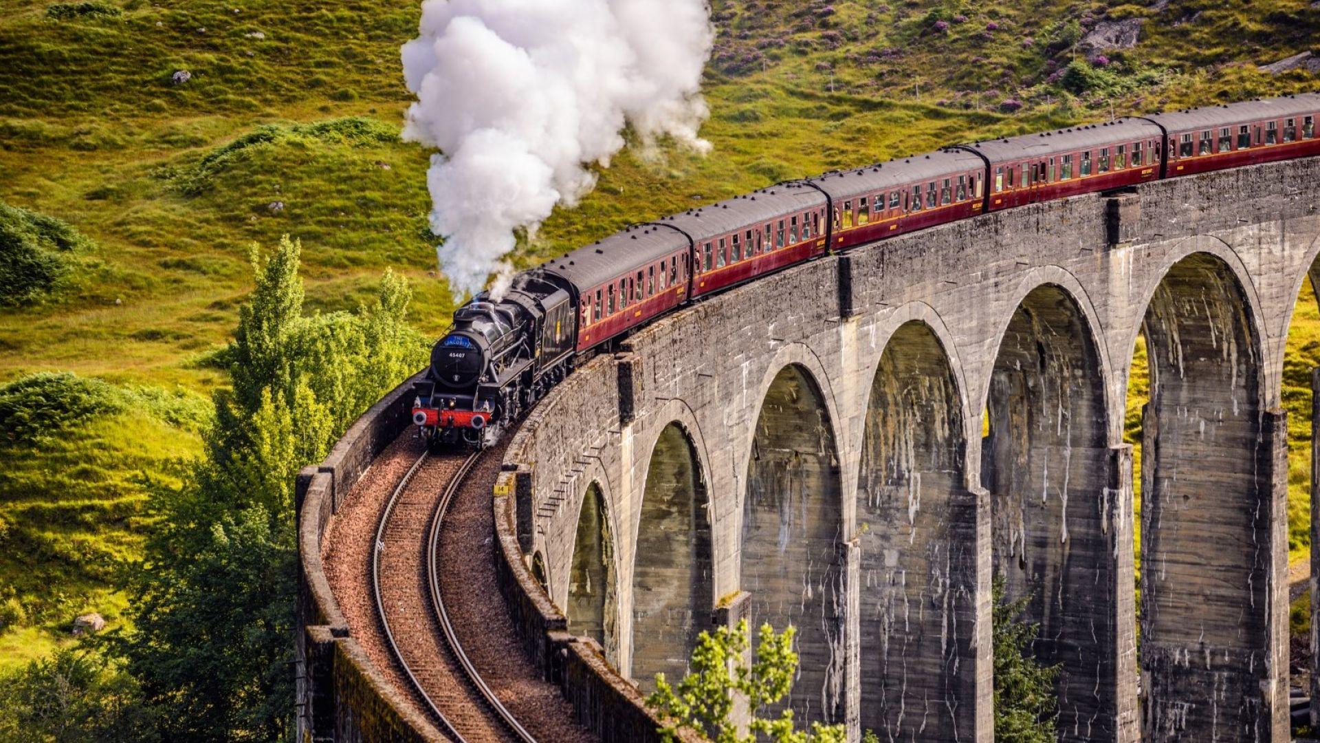 Пътешествие като на филм до Моста на Хари Потър в Шотландия