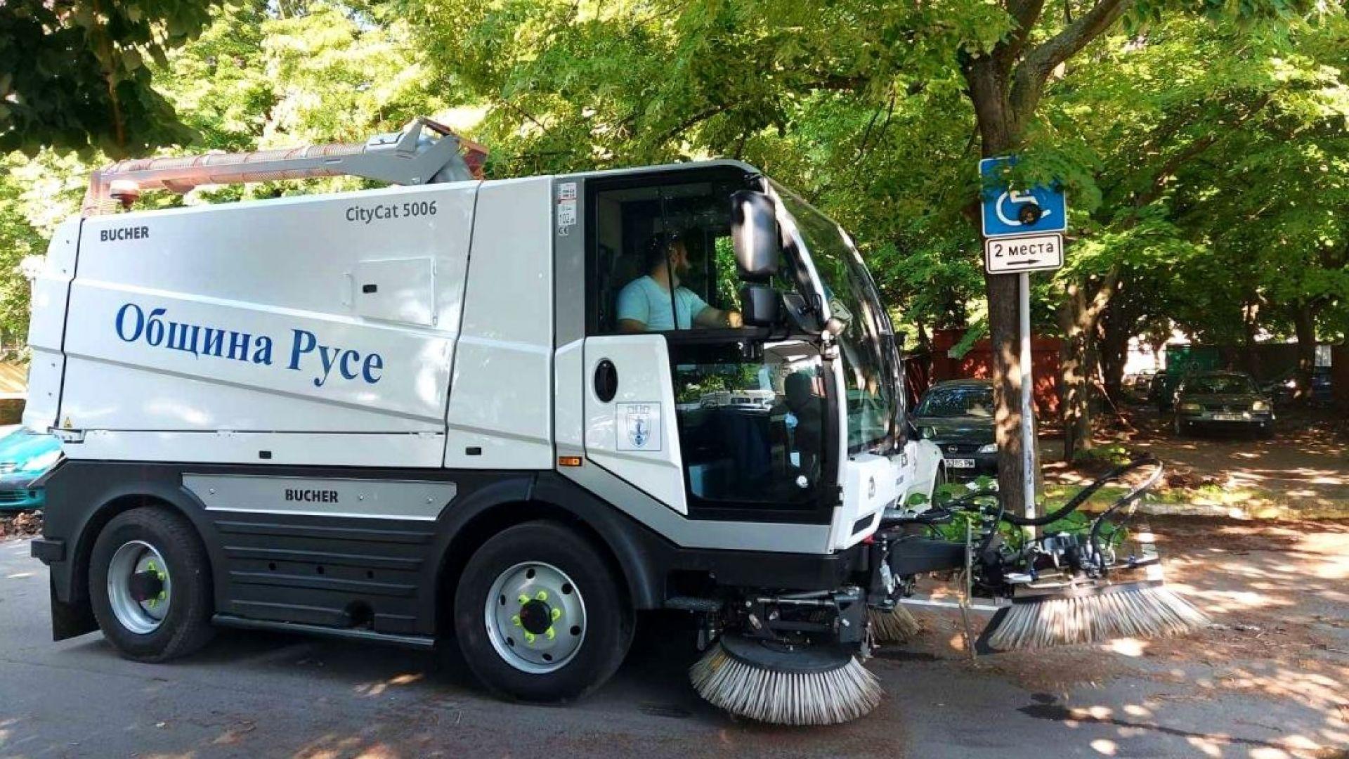 31 тона отпадъци са почистени за месец в Русе