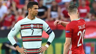 Евро 2020: Унгария - Португалия 0:0 (на живо)
