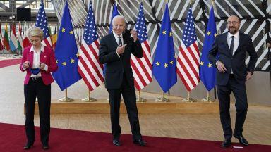 САЩ и ЕС заявиха, че са готови да отговорят решително на вредни действия на Русия