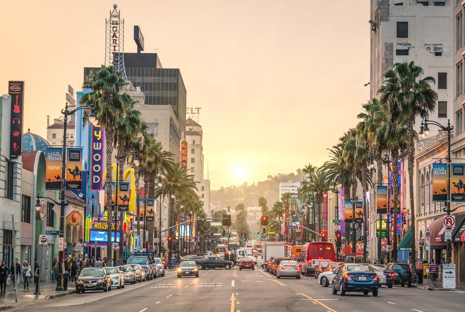 5. Sunset Boulevard, Лос Анджелис, САЩ