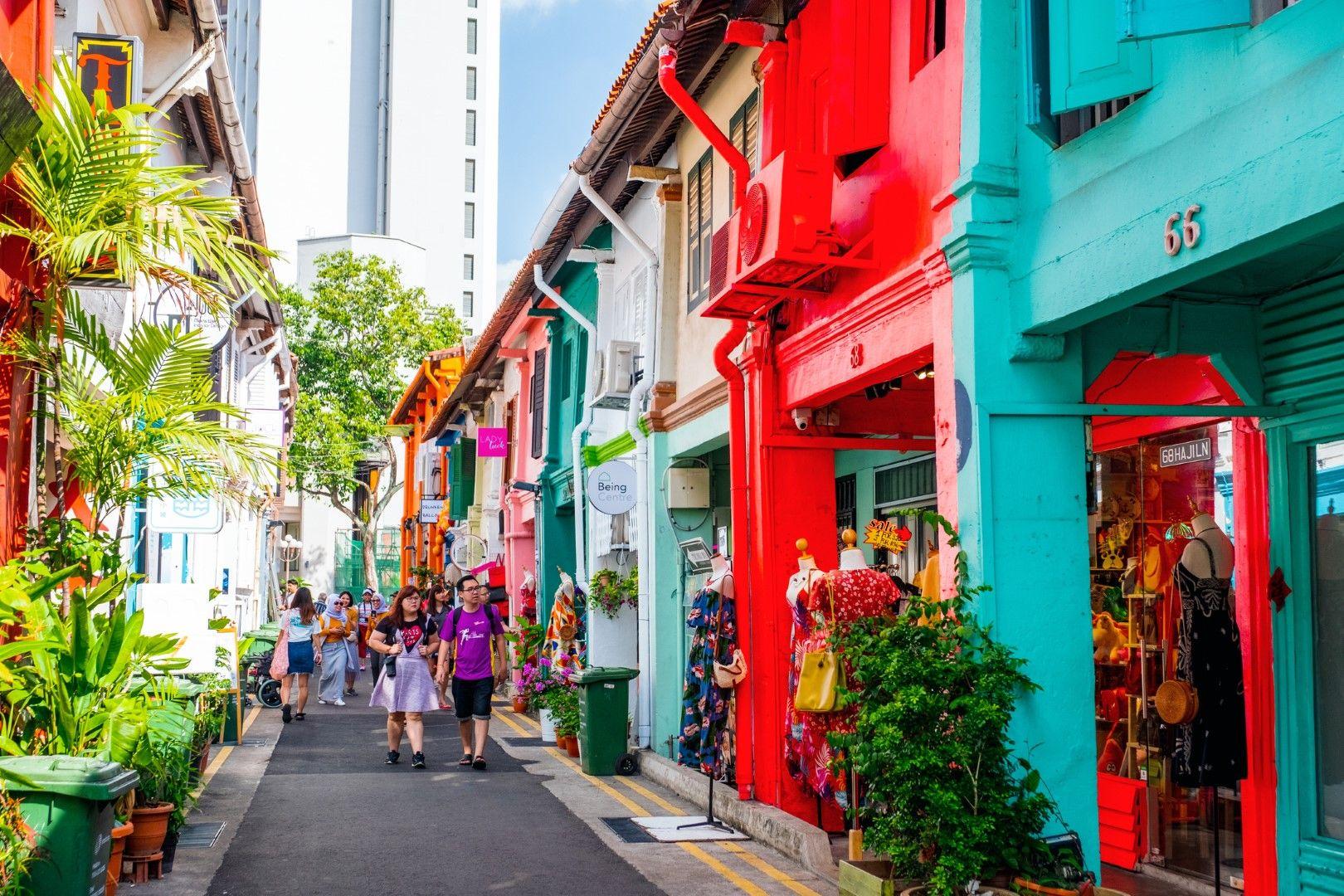 8. Haji Lane, Сингапур