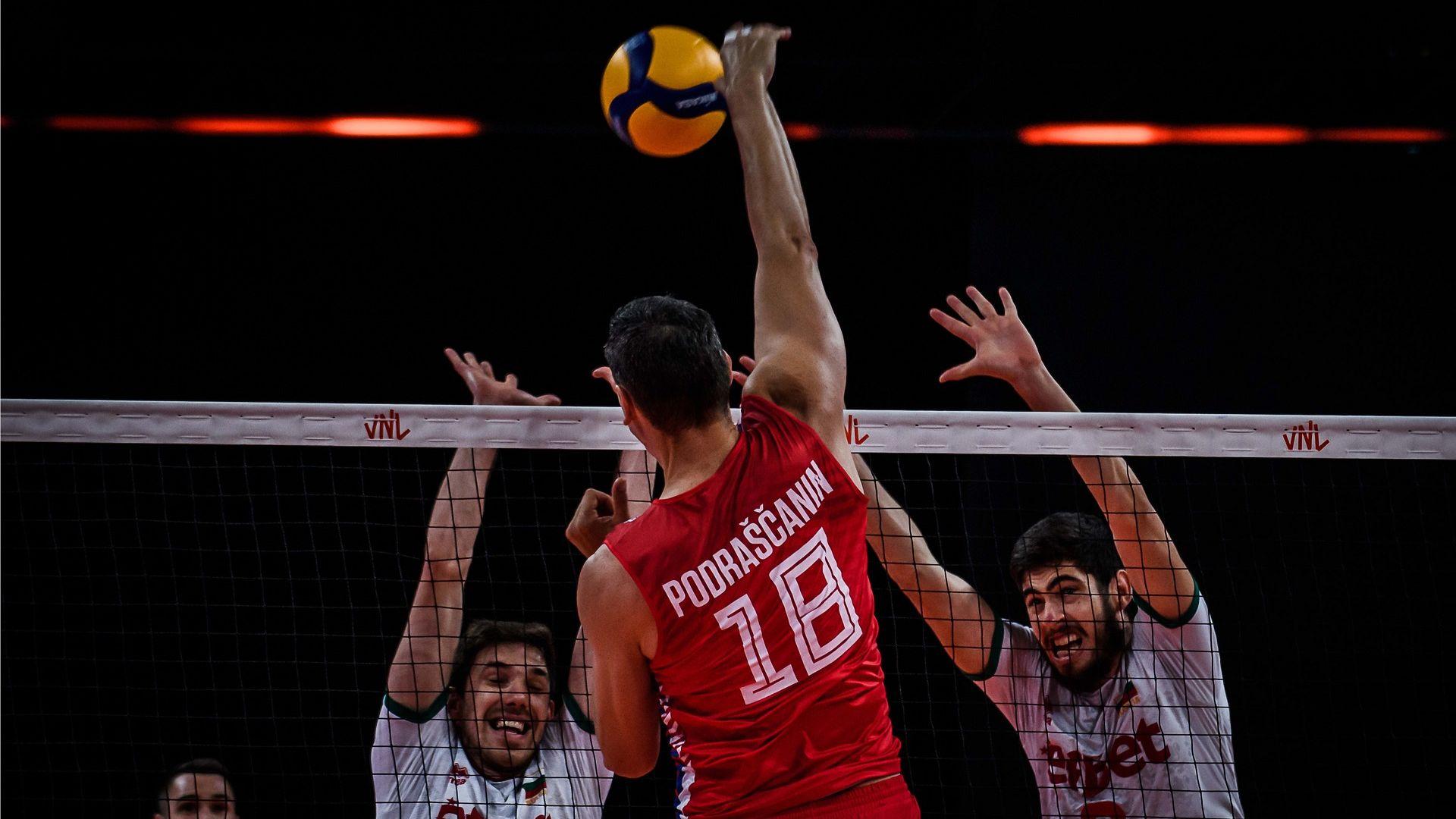 Сърбия също не даде гейм на волейболните ни национали