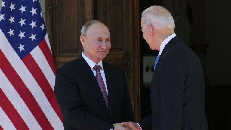 Образът на американския президент Джо Байдън, който създават руските и