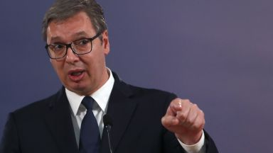 """Вучич за срещата в Брюксел: Курти 10 пъти каза """"признаване на Косово"""", аз само веднъж - """"никога"""""""