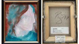 Картина на Дейвид Боуи, купена за 5 канадски долара, беше продадена на търг за над 108 000