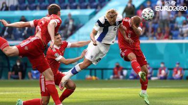 Евро 2020: Финландия - Русия 0:0, ВАР отмени гол (на живо)
