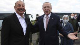 Ердоган: Турция и Азербайджан заедно ще построят нов Нагорни Карабах
