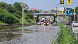Причините за наводнението в Русе: Количествата дъжд близо до екстремните и стара канализация