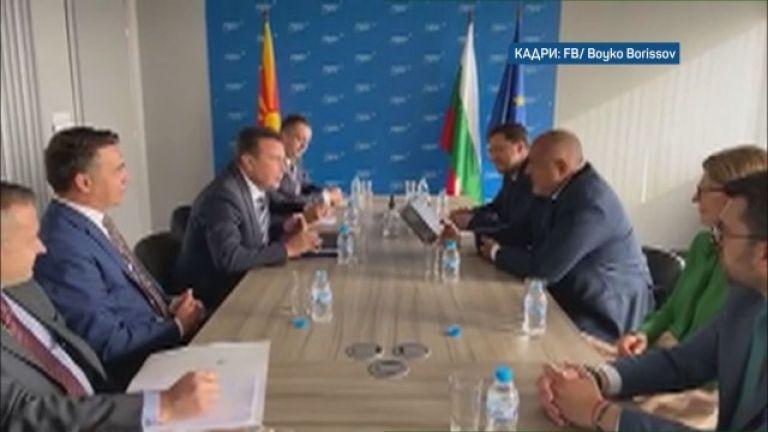 Премиерът на Северна Македония Зоран Заев пристигна в България. Първата