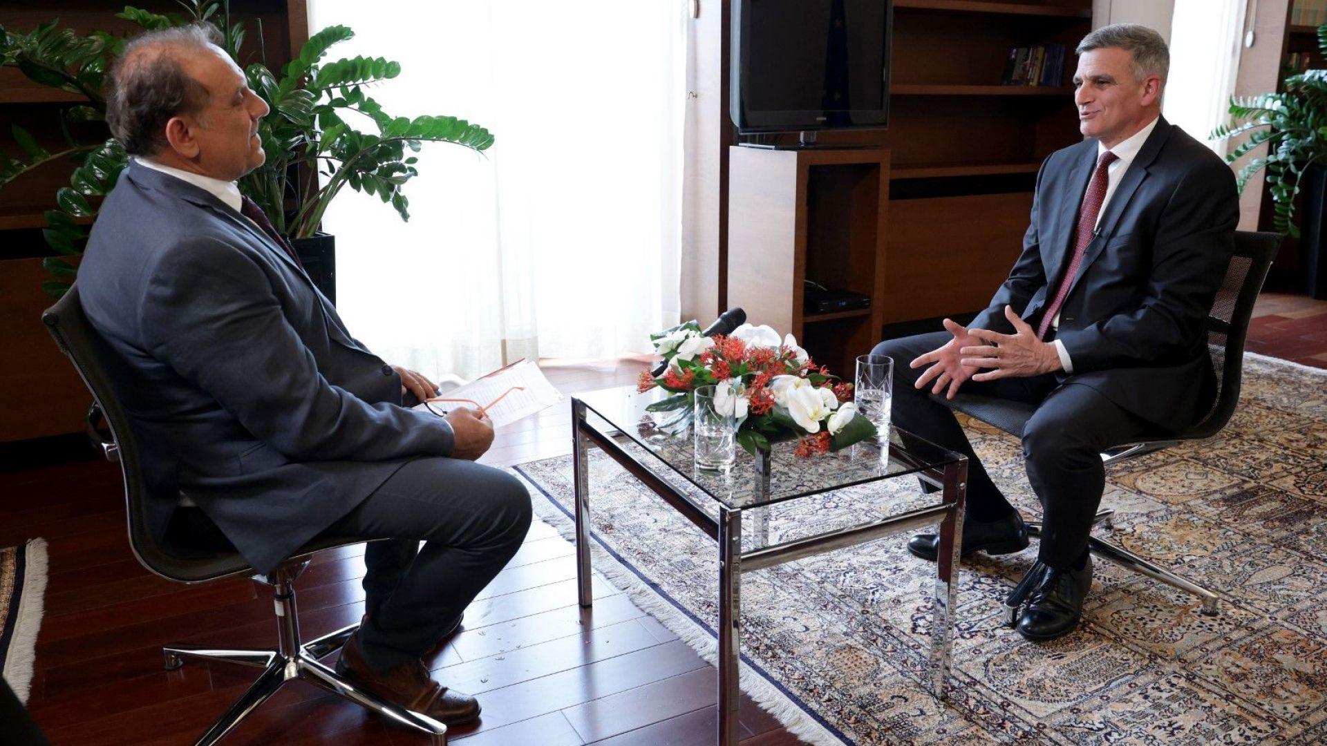 Стефан Янев пред МИА:  Нуждаем се от диалог и разбирателство