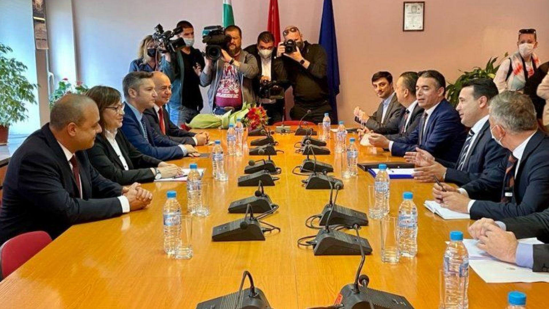 Нинова: Към този момент няма условия за начало на преговори със Северна Македония