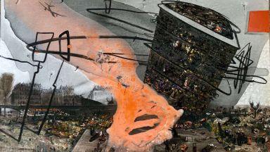 """Динамика, цветове и усещания: """"Градът"""" в най-новата изложба на Стилияна Узунова"""