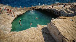 5 eстествени басейна в Гърция, в които да плувате (снимки и видео)