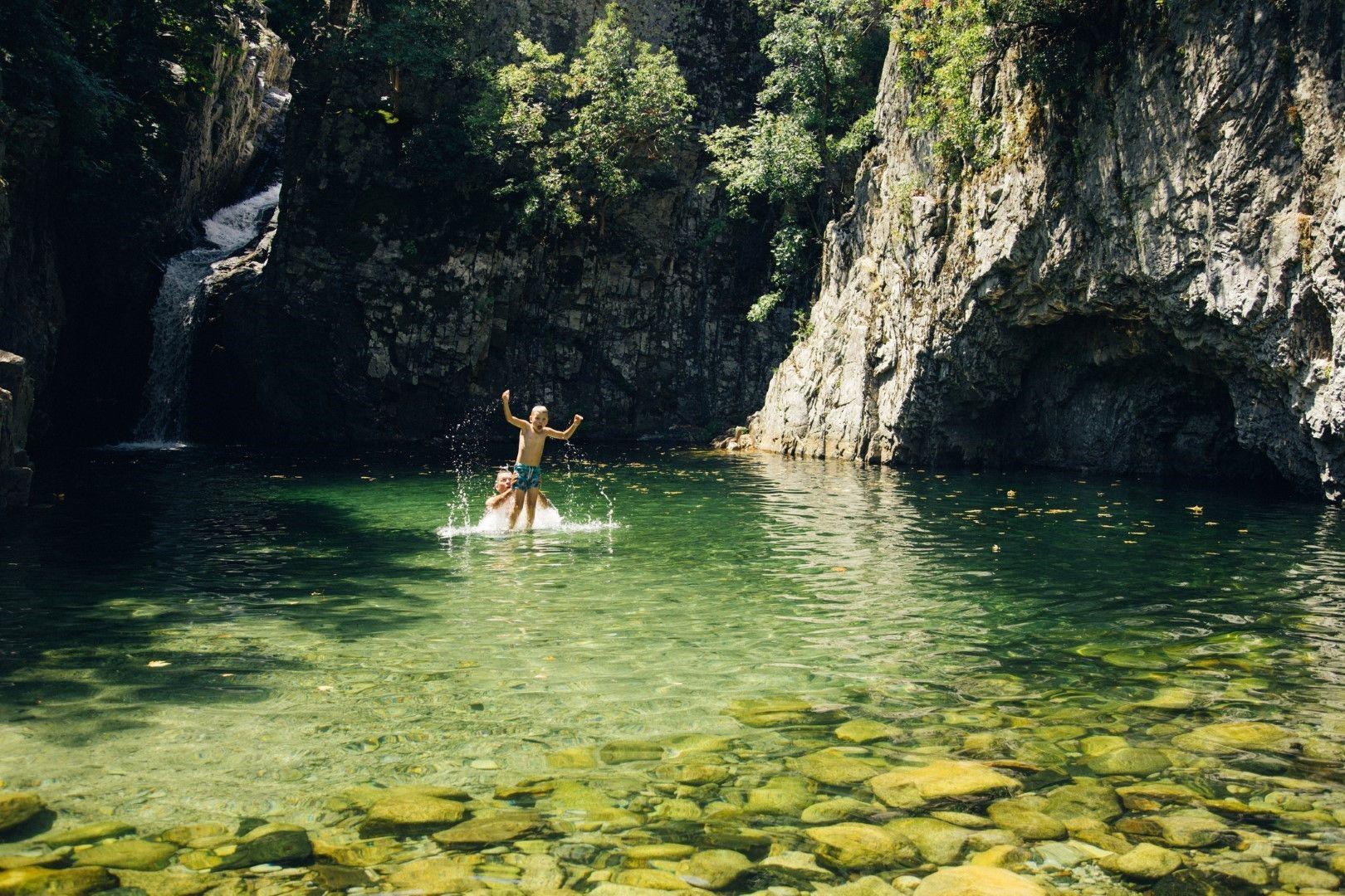 Естествените басейни на остров Самотраки