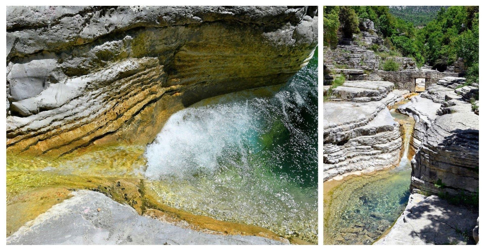 Каменните басейни Овирес край Папиго