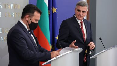 Янев пред Заев: Твърдо поддържаме РСМ за ЕС, отговорността е на политиците (снимки)