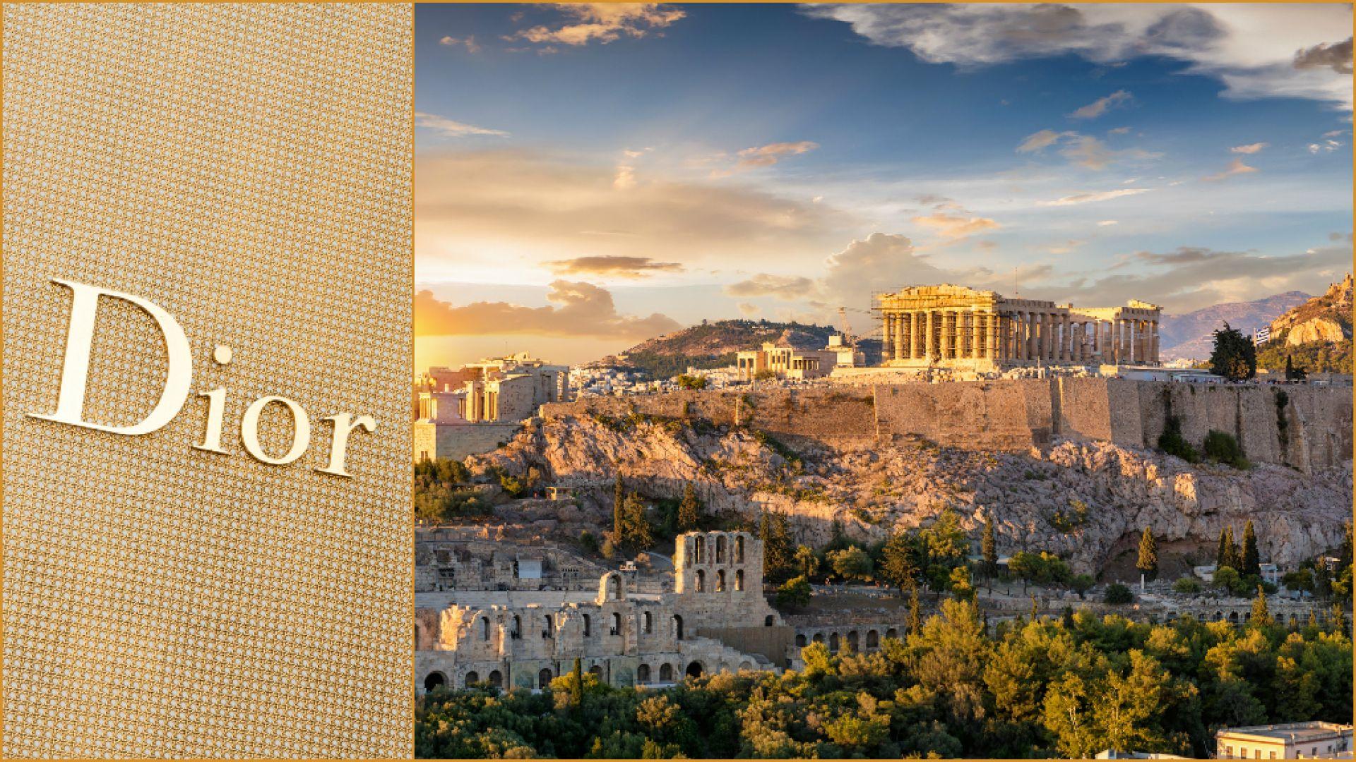 """Dior се връща към """"старото нормално"""" с пищно шоу в Атина"""