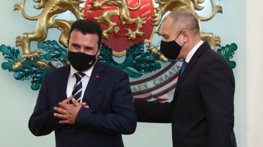 """Румен Радев: Няма да кажем """"да"""" преди Скопие да спре с изопачаването"""