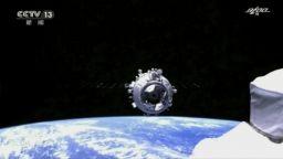 Китайските тайконавти влязоха в модула на космическата станция