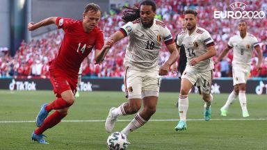 Евро 2020: Дания - Белгия 1:0 (на живо)