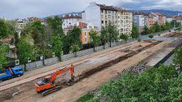 """Затварят част от ул. """"Алабин"""" заради ремонта на бул. """"Цар Борис III"""""""