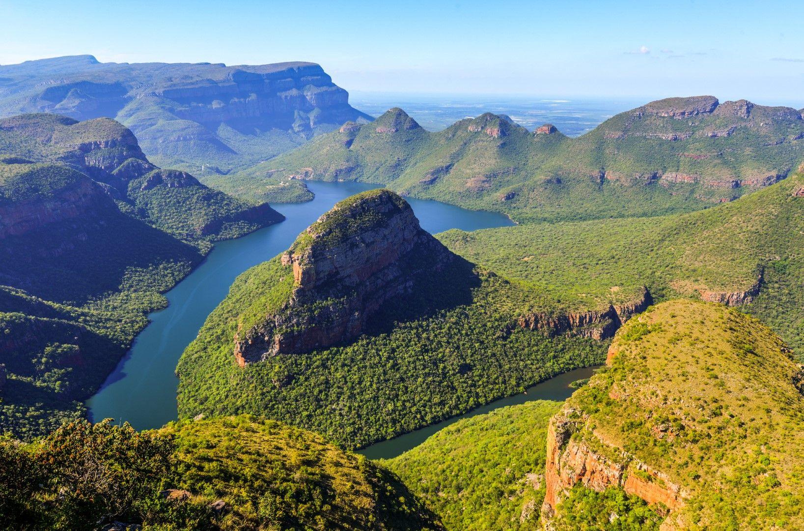 Каньонът на река Блайд, Южна Африка